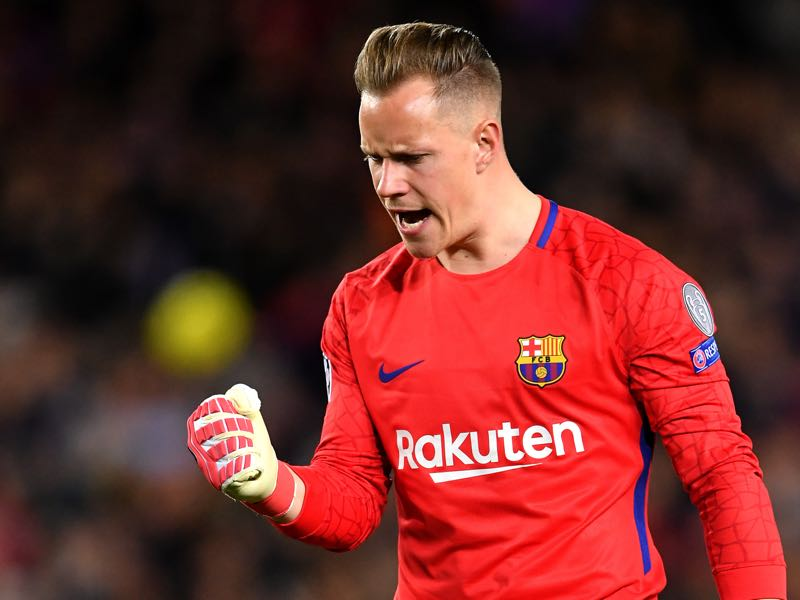Marc-André ter Stegen has been in excellent form and could easily replace Manuel Neuer (Photo by Stuart Franklin/Getty Images)