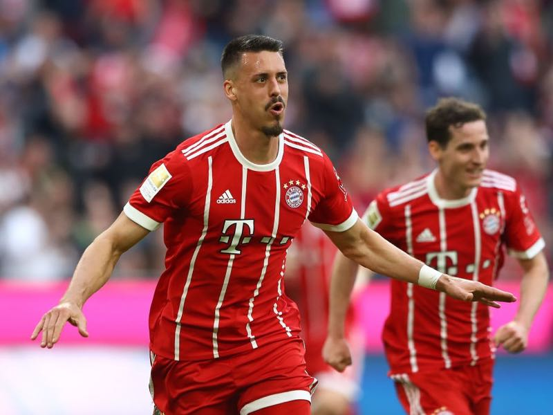 Bayern v Gladbach - Sandro Wagner was the Futbolgrad Network player of the match. (Photo by Martin Rose/Bongarts/Getty Images)