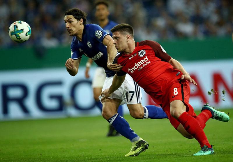 Schalke v Frankfurt