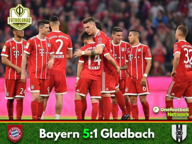 Bayern show no mercy in decisive victory over Gladbach