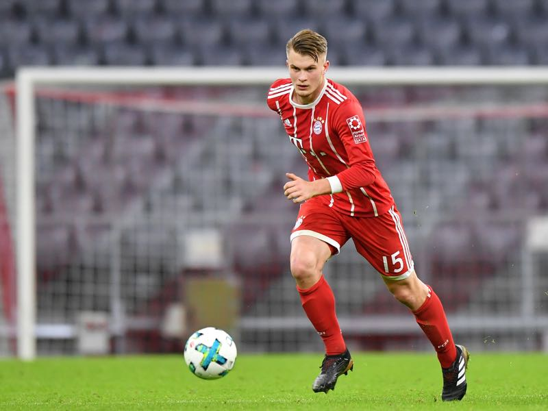 Lars Lukas Mai is Bayern's seventh youngest Bundesliga debutant. (Photo by Sebastian Widmann/Bongarts/Getty Images)