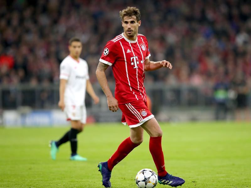 Javi Martínez will carry the defensive load in Bayern's midfield (Photo by Alexander Hassenstein/Bongarts/Getty Images)