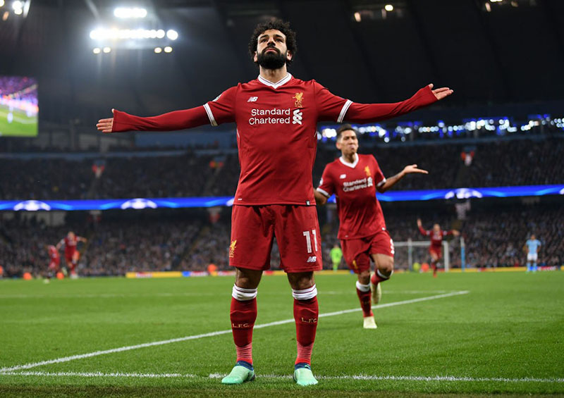 Mohamed Salah has the chance to become an ultimate superstar beyond England (Photo by Laurence Griffiths/Getty Images)