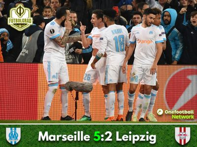 Olympique Marseille hammer RB Leipzig to advance