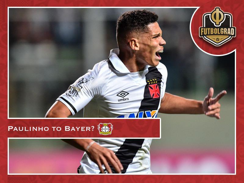 Paulinho – Bayer Leverkusen target Brazilian wunderkind