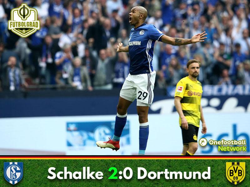 Schalke power past Dortmund in the Revierderby