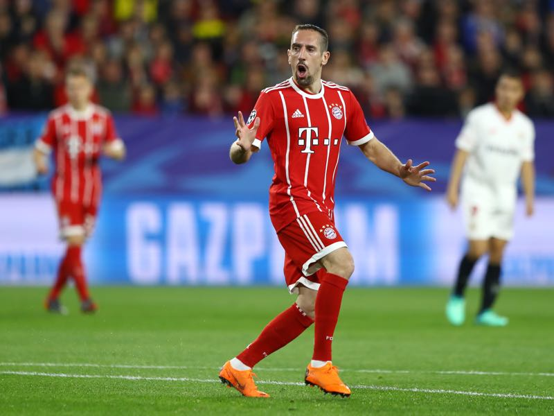 Frank Ribéry quickly rallied Bayern and laid the foundation for a great comeback victory. (Photo by Martin Rose/Bongarts/Getty Images)
