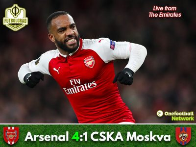 Arsenal vs CSKA Moskva – Europa League – Match Report