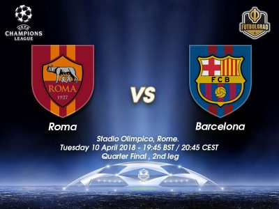 Roma vs Barcelona – Champions League – Preview