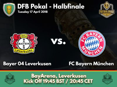 Leverkusen host mighty Bayern in the DFB Pokal semifinal