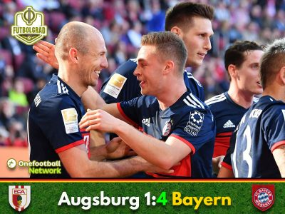 Augsburg vs Bayern – Bundesliga – Match Report