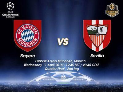 Bayern München vs Sevilla – Champions League – LIVE