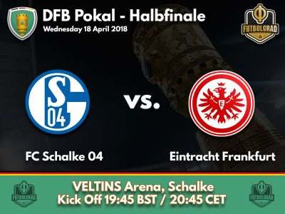 Frankfurt travel to Schalke to look for a second DFB Pokal Final in a row