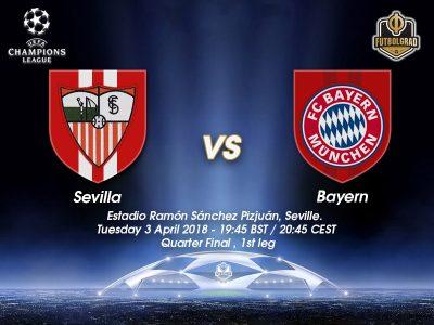 Sevilla vs Bayern München – Champions League – Preview