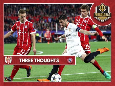 Comeback victory over Sevilla helps Bayern overcome Spanish trauma