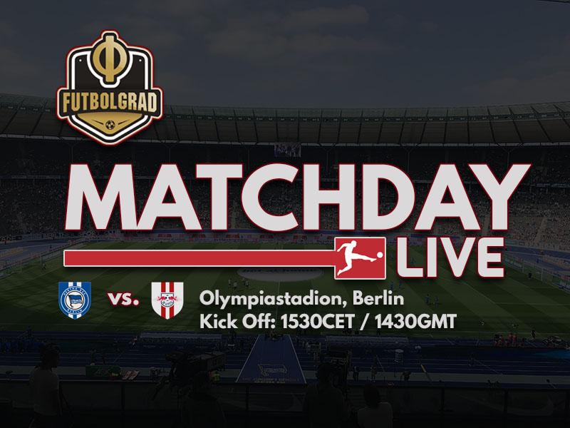Hertha Berlin vs RB Leipzig – Bundesliga LIVE