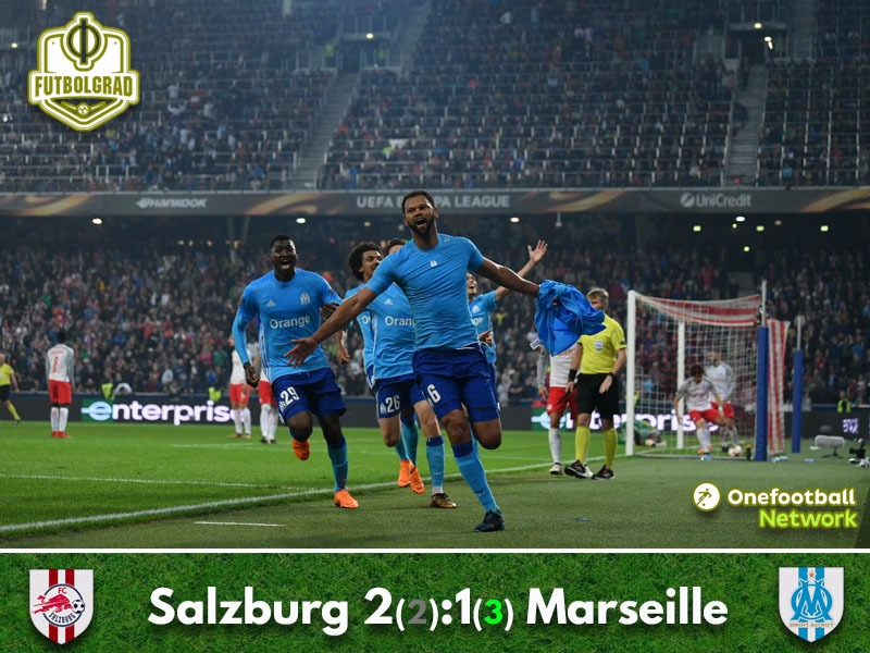 Marseille advance against Salzburg in controversial fashion