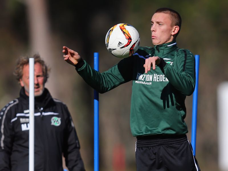 Marius Wolf was given little to no chance at Hannover 96 (Photo by Alex Grimm/Bongarts/Getty Images)