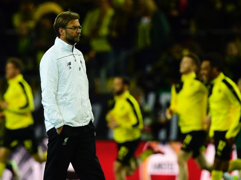 Lucien Favre will now attempt to make Dortmund move on from the Jürgen Klopp era. (JOHN MACDOUGALL/AFP/Getty Images)