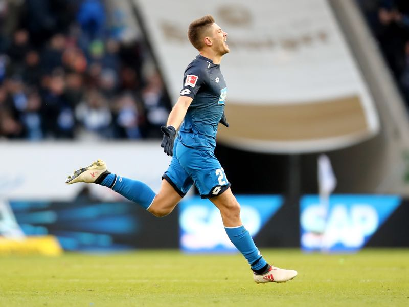 Andrej Kramarić has regained his scoring touch. (DANIEL ROLAND/AFP/Getty Images)