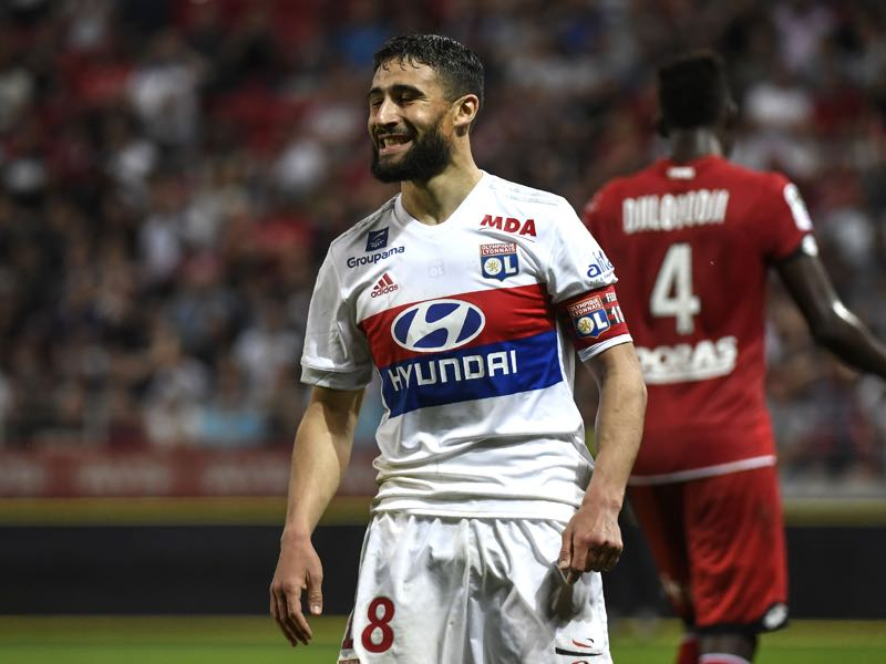 Nabil Fekir has been in sensational form this season. (PHILIPPE DESMAZES/AFP/Getty Images)