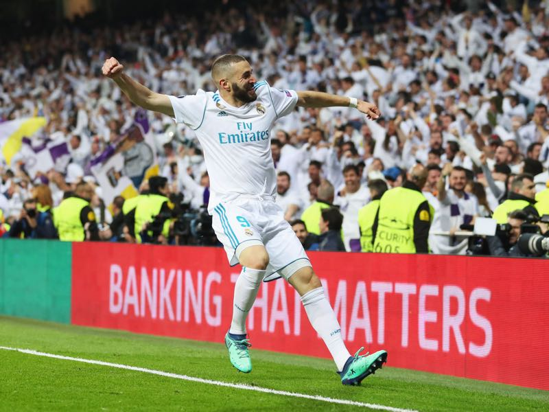 Real Madrid v Bayern - Karim Benzema was the Futbolgrad Network player of the match (Photo by Catherine Ivill/Getty Images)