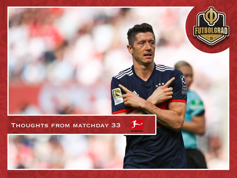 Bundesliga – Thoughts from matchday 33