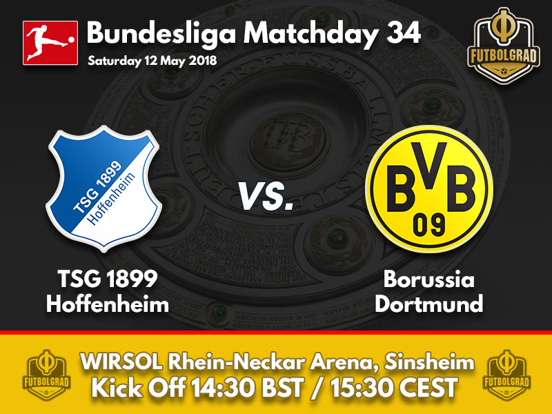 Hoffenheim and Dortmund to battle for the Champions League
