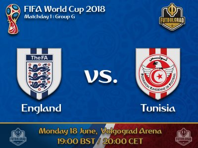 Three Lions take on the Tunisian Eagles to open the World Cup