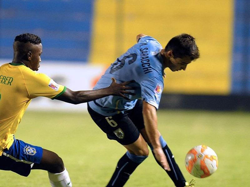Marcelo Saracchi impressed at the U-20 Sudamericano last year (NORBERTO DUARTE/AFP/Getty Images)