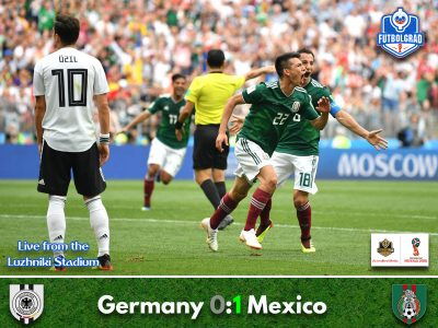 El Tri take the biggest scalp by beating world champions Germany
