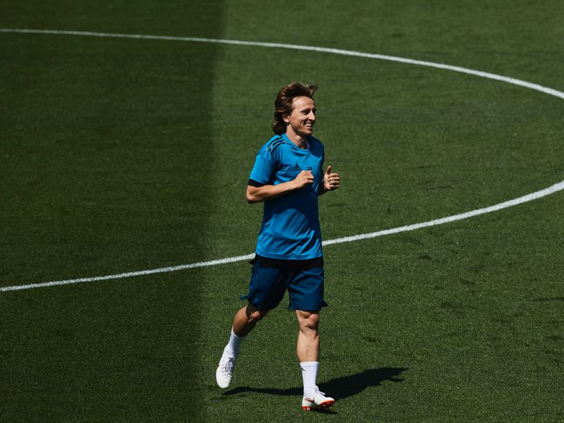Luka Modrić is Croatia's most intriguing player (Photo by Gonzalo Arroyo Moreno/Getty Images)
