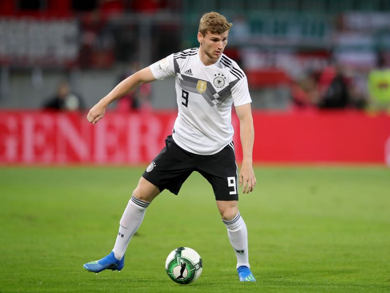 Germany v Saudi Arabia - Timo Werner was the player of the match (Photo by Alexander Hassenstein/Bongarts/Getty Images)