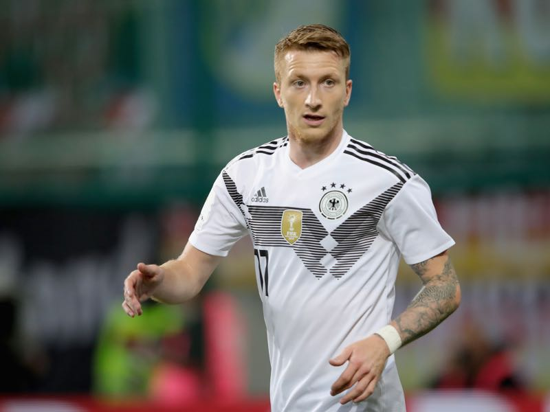 Marco Reus is looking forward to his first major tournament (Photo by Alexander Hassenstein/Bongarts/Getty Images)