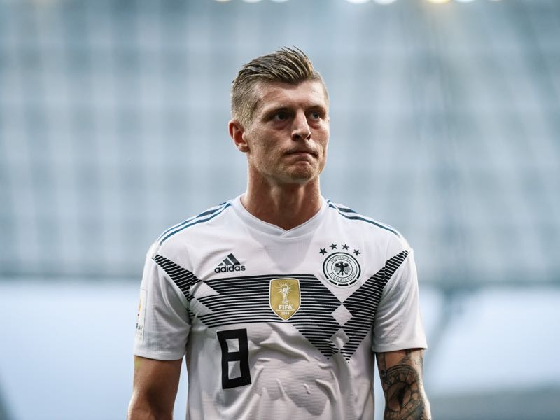 Toni Kroos dictates Germany's play (Photo by Alexander Scheuber/Bongarts/Getty Images)