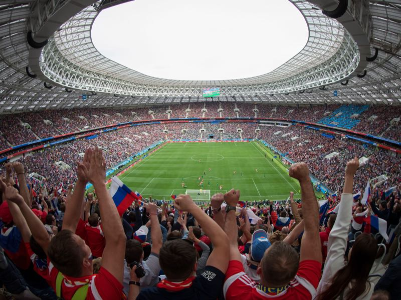 Germany vs Mexico will take place at the Luzhniki in Moscow (Photo by Clive Rose/Getty Images)