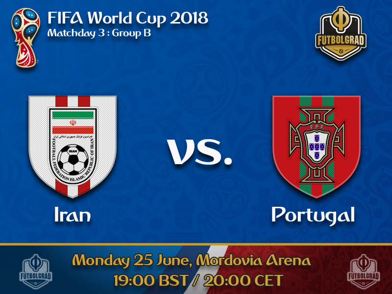 Iran will try to upset Portugal to advance from Group B