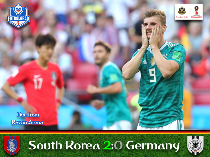 South Korea shock die Mannschaft as the world champions fall at the first stage