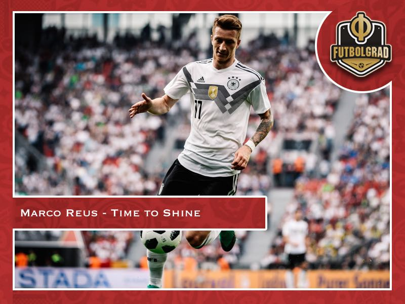 Marco Reus – The time is now to shine for Germany
