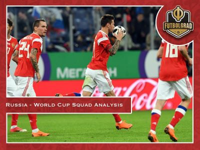 Russia's World Cup squad analysis