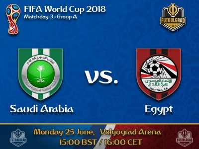 Saudi Arabia vs Egypt – 2018 FIFA World Cup – Preview