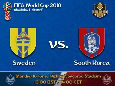 Sweden and South Korea enter the scene on Monday