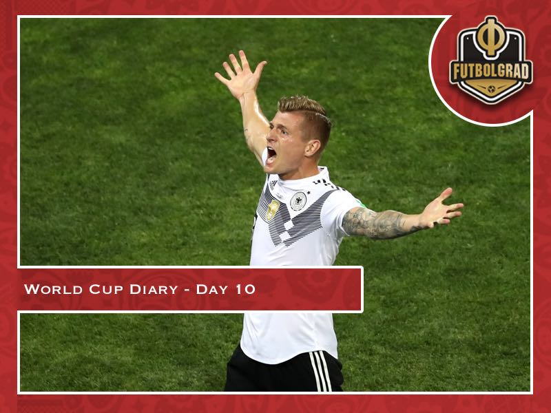 World Cup Diary – Day 10: Germany resurrected?