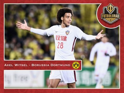 Axel Witsel – Dortmund's new midfield enforcer introduced