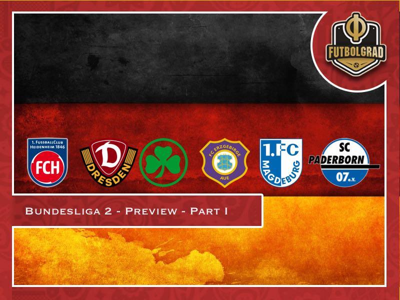 Bundesliga 2 – 2018/19 Season Preview – Part I