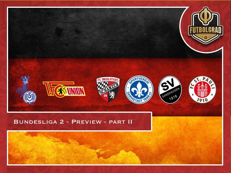 Bundesliga 2 – 2018/19 Season Preview – Part II