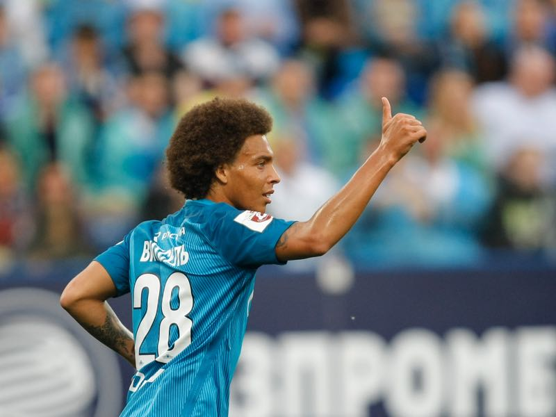 Axel Witsel went to Zenit St. Petersburg at a different time (Photo by Epsilon/Getty Images)