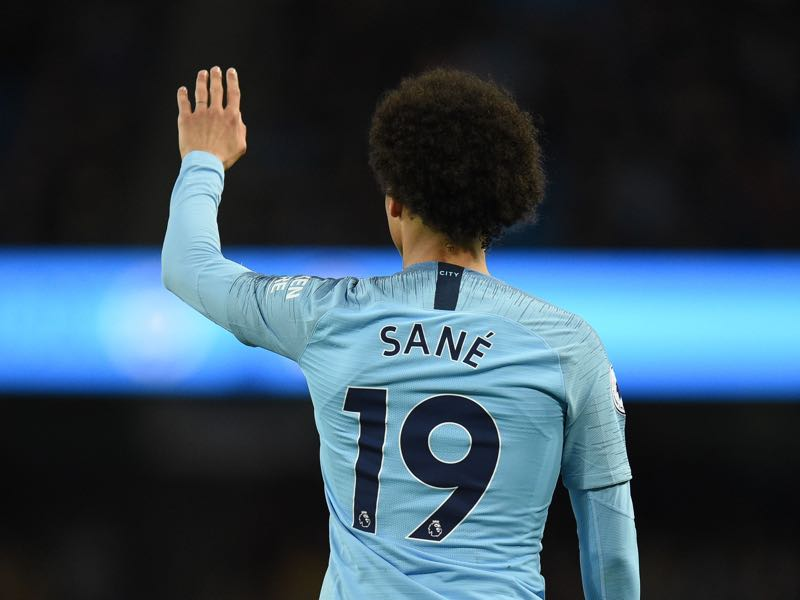 Leroy Sané will want to show that his national team exclusion was unjustified (Photo by Oli SCARFF / AFP)