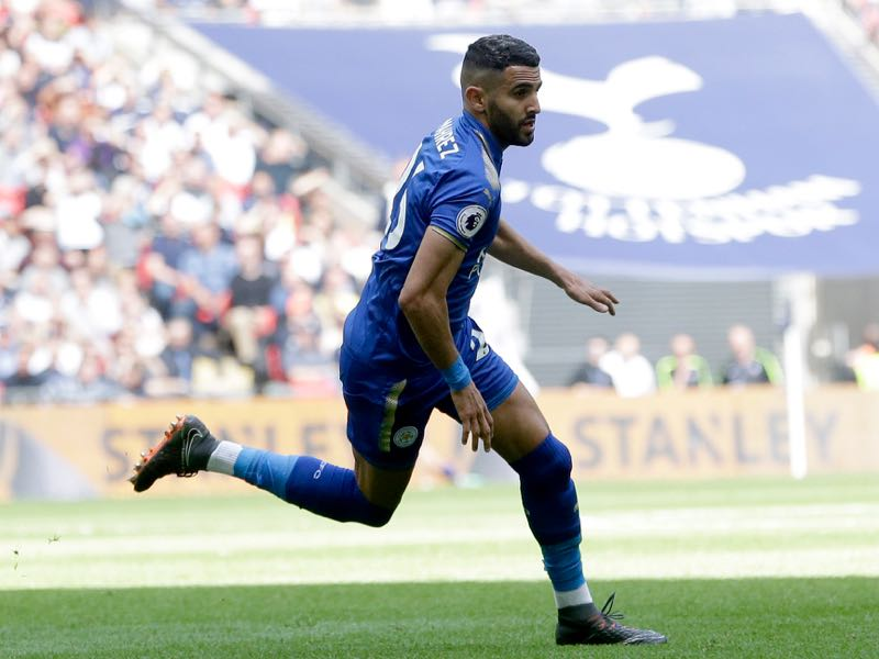 Riyad Mahrez joined Manchester City from Leicester City this summer (Photo by Henry Browne/Getty Images)
