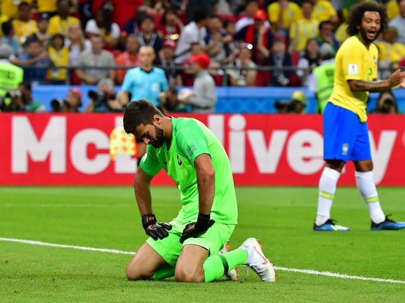 Alisson did not have the best World Cup (LUIS ACOSTA/AFP/Getty Images)